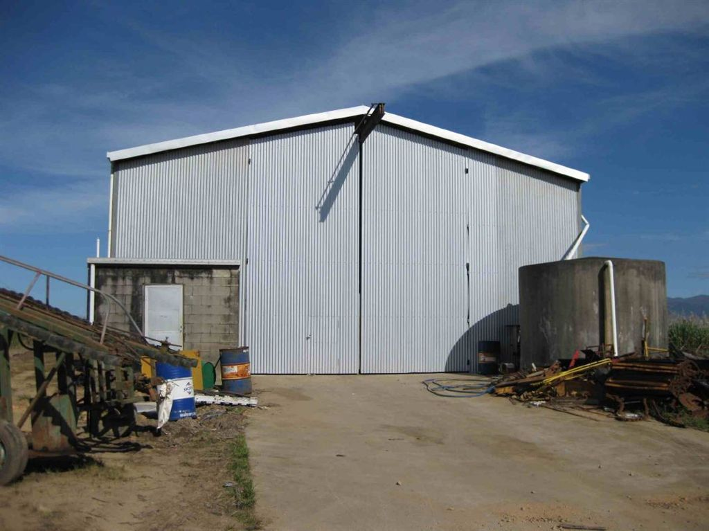 Outside view of shed, photo 1