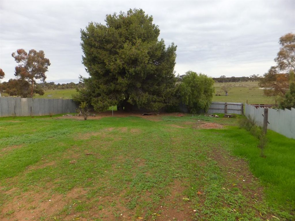 168 Woods Street, Donald - middle of block to rear of block & rural outlook beyond