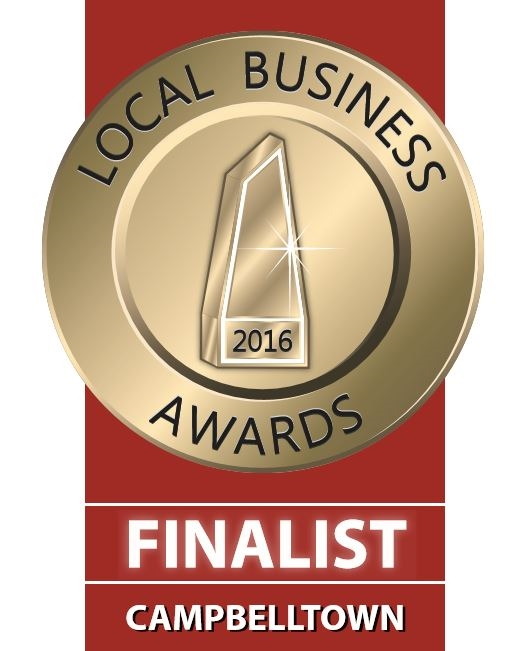 Proud to be a finalists in the 2016 Small Business Awards for the Macarthur District
