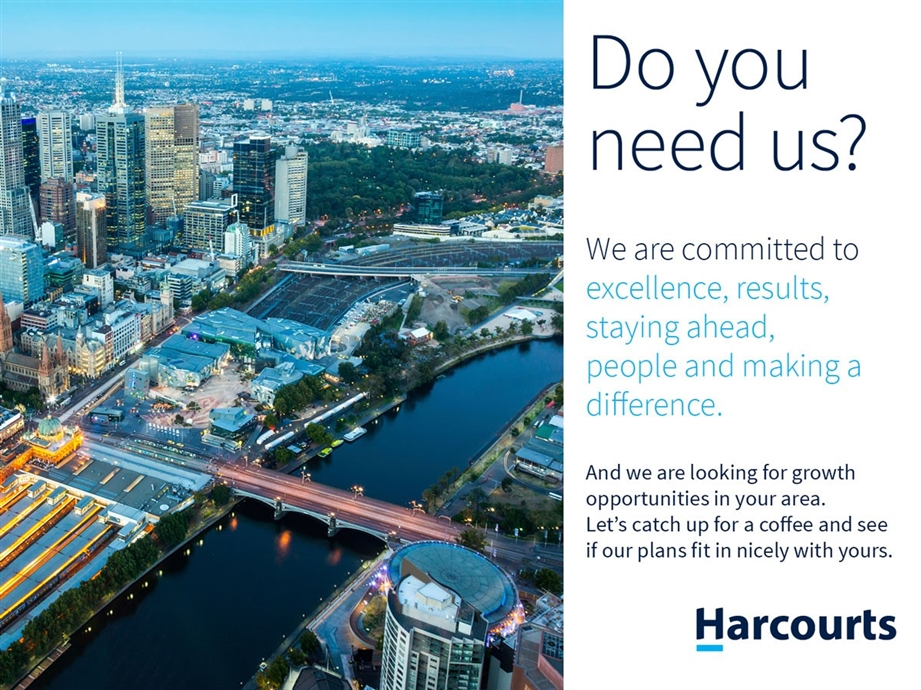 Join The Harcourts Victorian Network