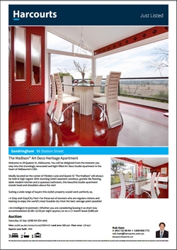 Harcourts Re-branded Client Flyer