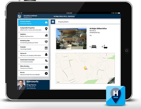 Harcourts iPad eCampaign Listing Presentation