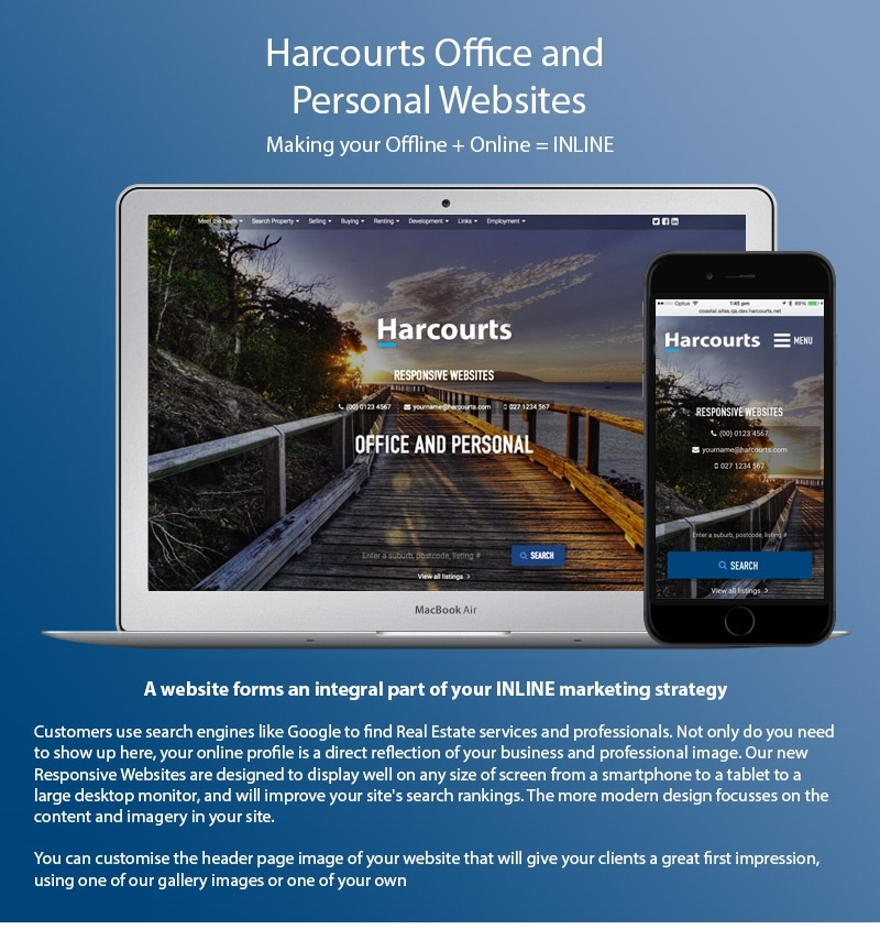 Harcourts Personal & Sales Consultant Websites