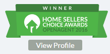 Winner! Home Sellers Choice Award