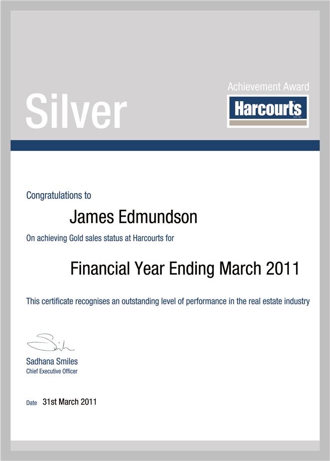 James Edmundson Silver Award