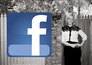 Join me on Facebook - click below