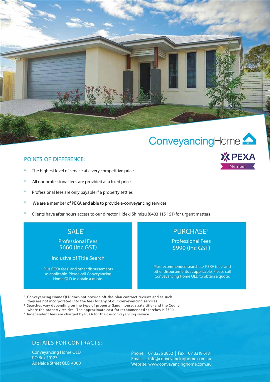 Conveyancing Home Qld