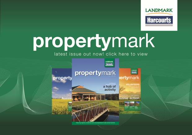 Landmark Harcourts Real Estate Property Mark