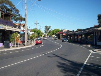 Upwey - Main Street