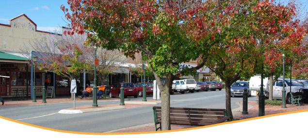 main shopping precinct