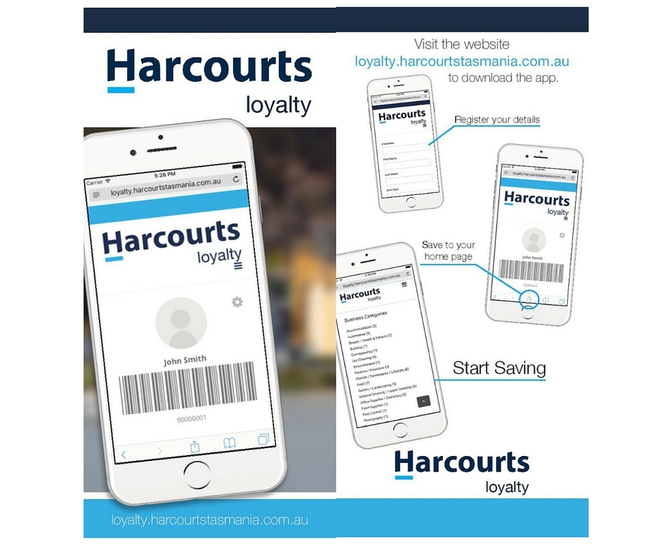 Harcourts Loyalty Card Update