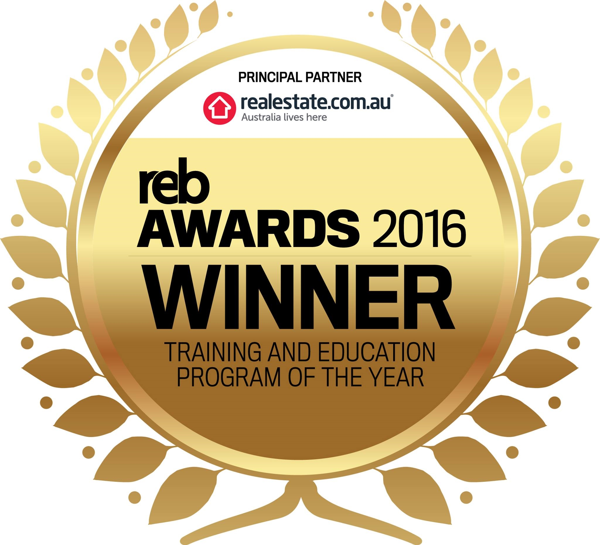 Training and Education Program of the Year!
