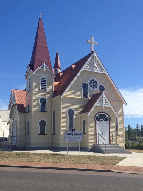 The Old Penguin Church