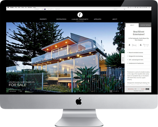 Luxury property selection your future harcourts for Innovative home designs and marketing