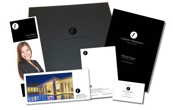 Luxury Property Selection Print Media Example