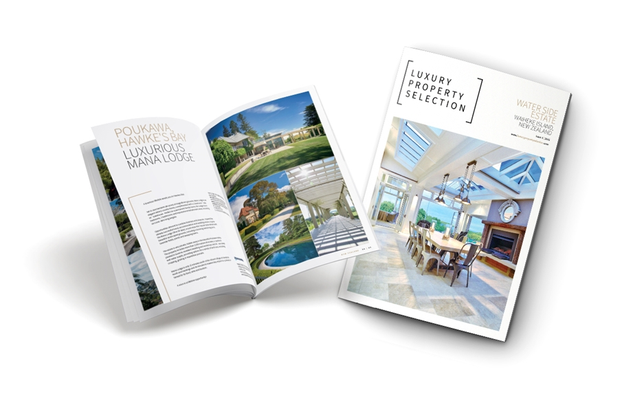Luxury Property Selection Magazine Cover Image