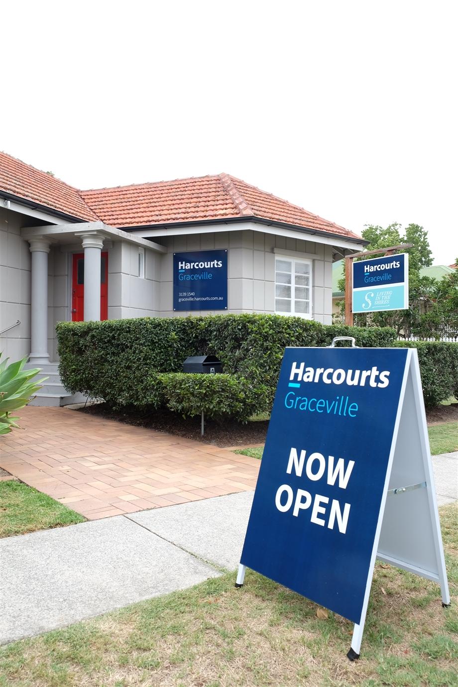 Harcourts Graceville office
