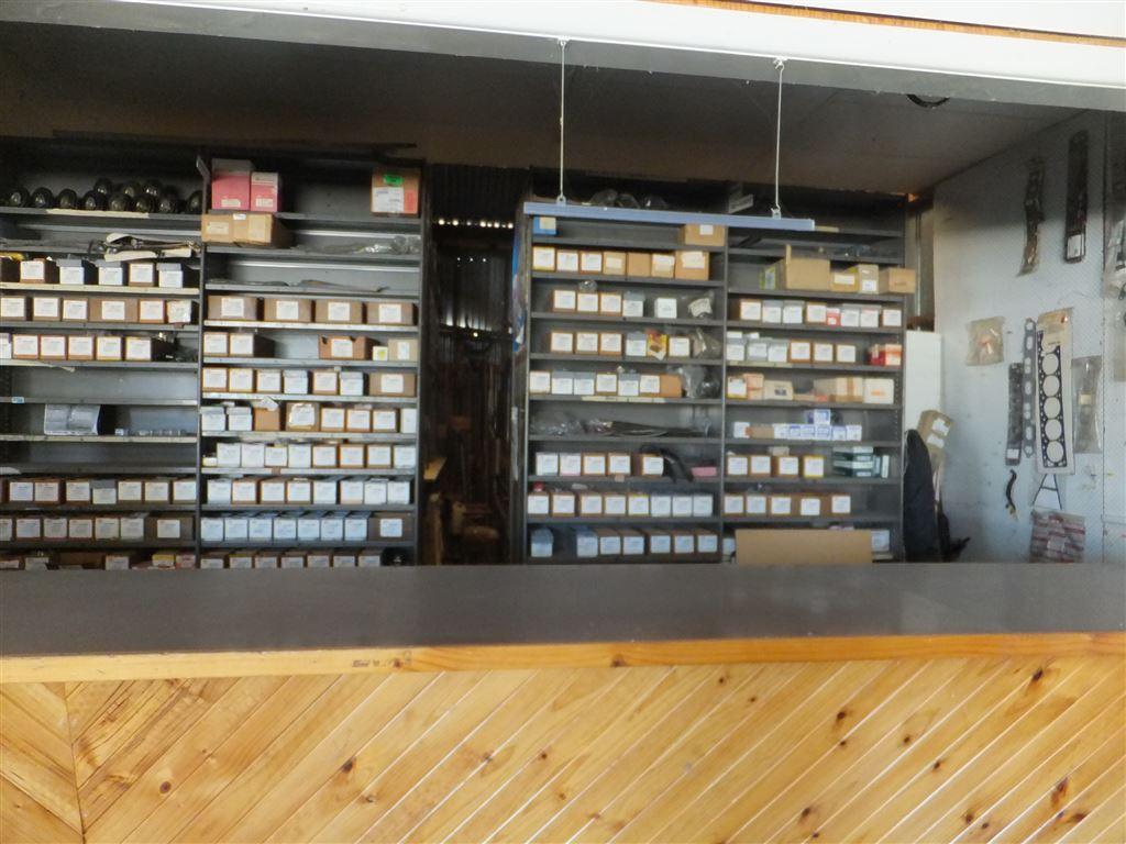 Spare parts storage