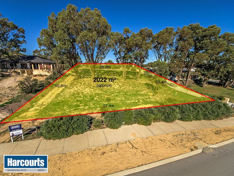 A Rare Opportunity  2022sqm of land in the heart of Yanchep.