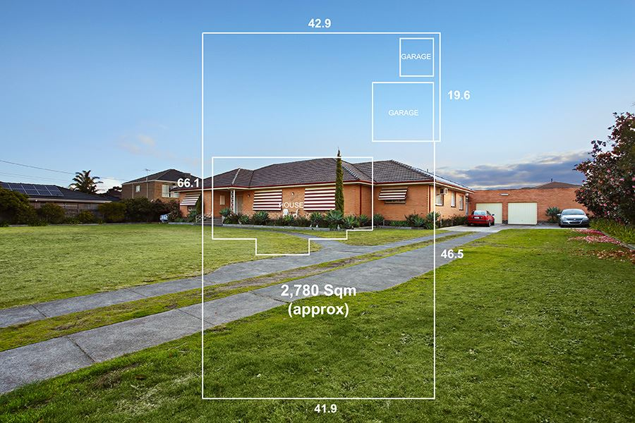 57 squares of living on a massive 2780sqm of land!