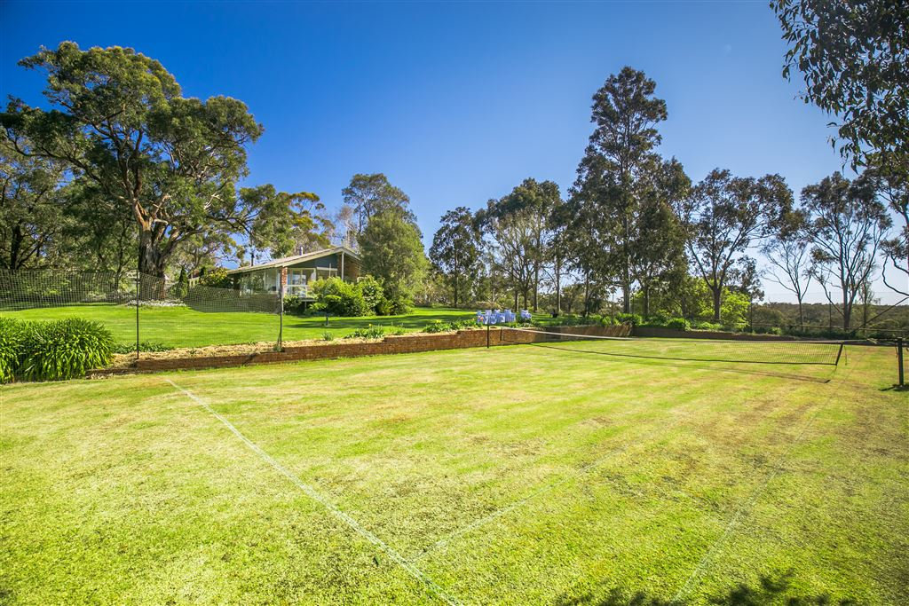 37 acres- 2 homes- Tennis Court- Stables - grazing country-