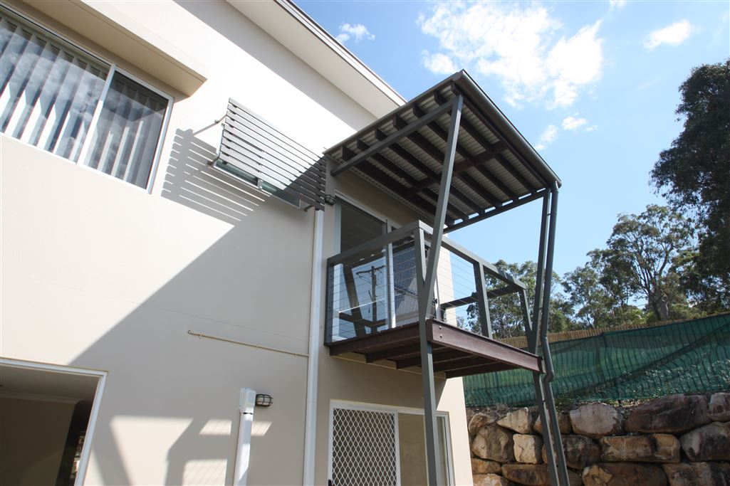 Harcourts Coomera - master bedroom balcony