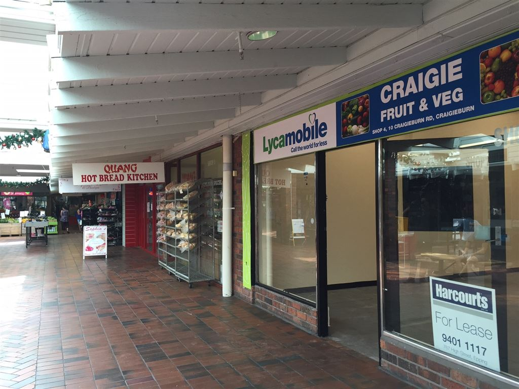Retail Opportunity Craigieburn Shopping Centre