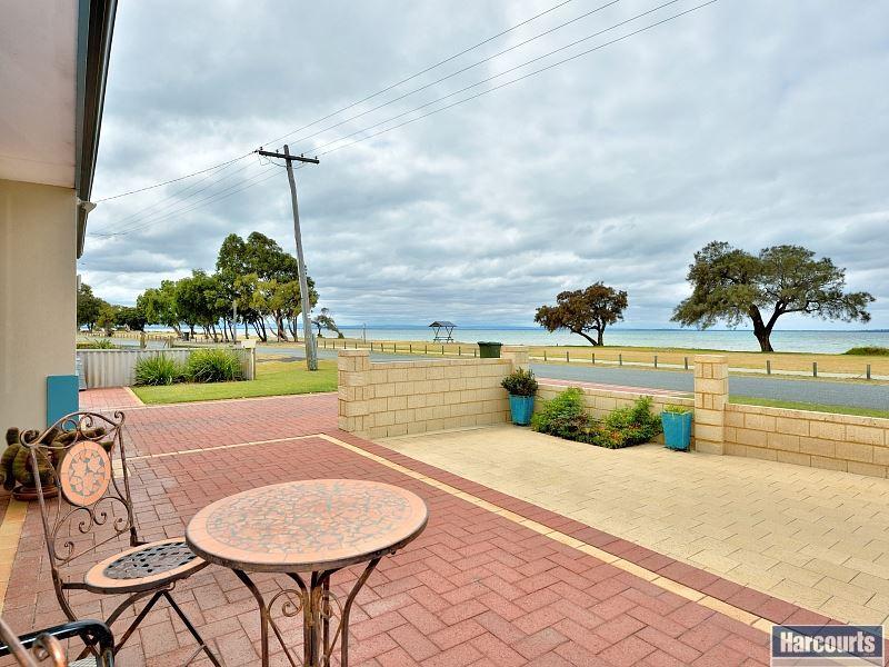 Panoramic estuary front views