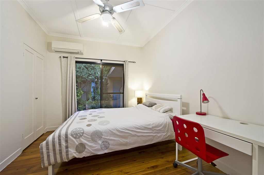 Bedroom Two - Aircon - Ceiling Fan - Builtin Robe