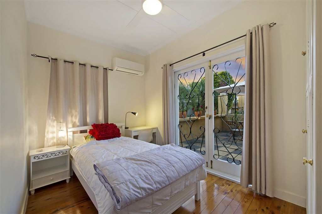 Bedroom Three - Aircon - Ceiling Fan - Builtin Robe