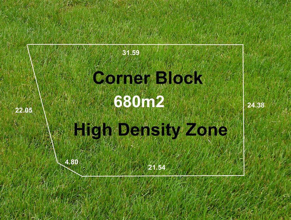 680m² Corner Block with High Density Zoning!