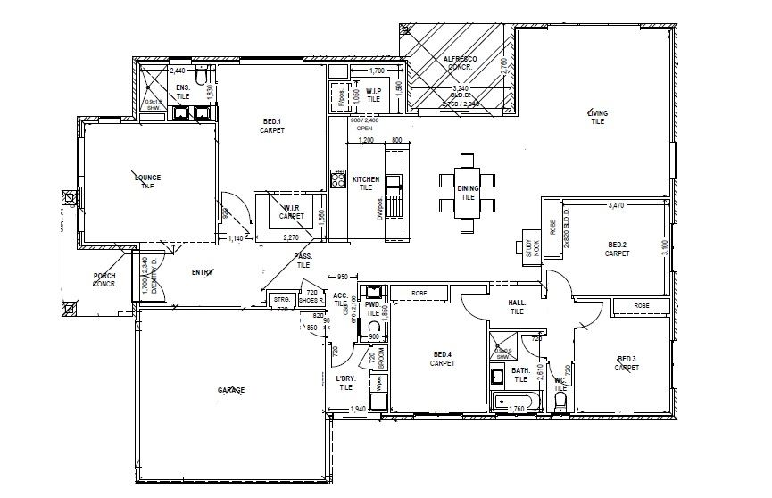 4 Bedroom, Well Designed, New Home!