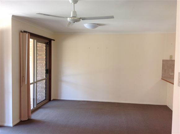 Dining room with access to front patio