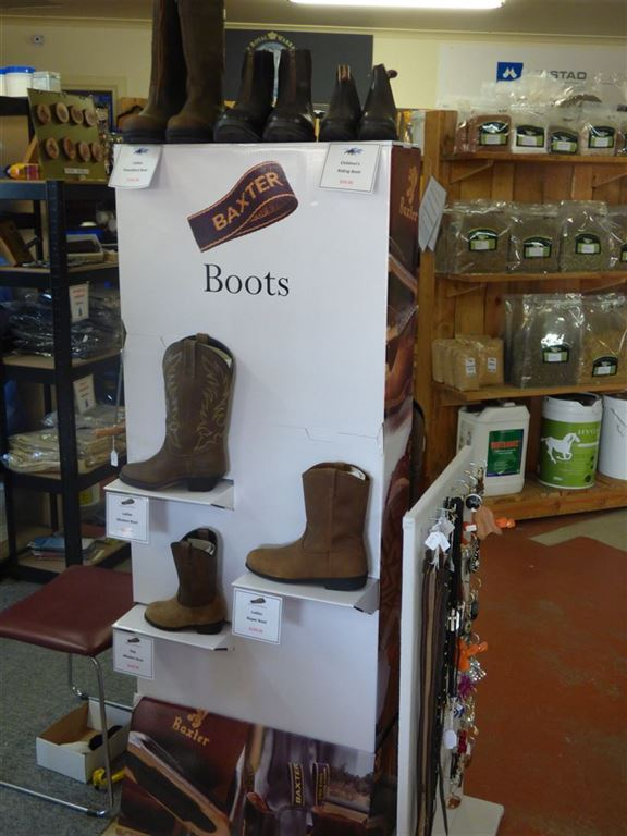 Baxter Boot Display