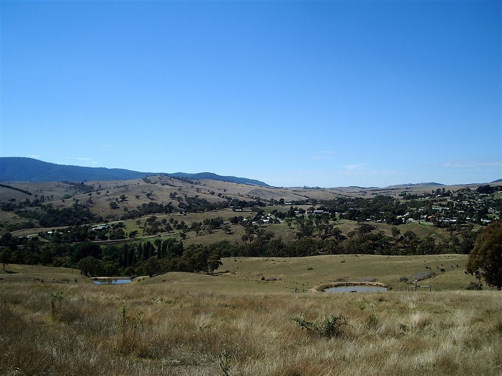 Overlooking Omeo and the Valley.