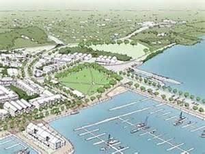 artist's impression proposed  400-berth marina