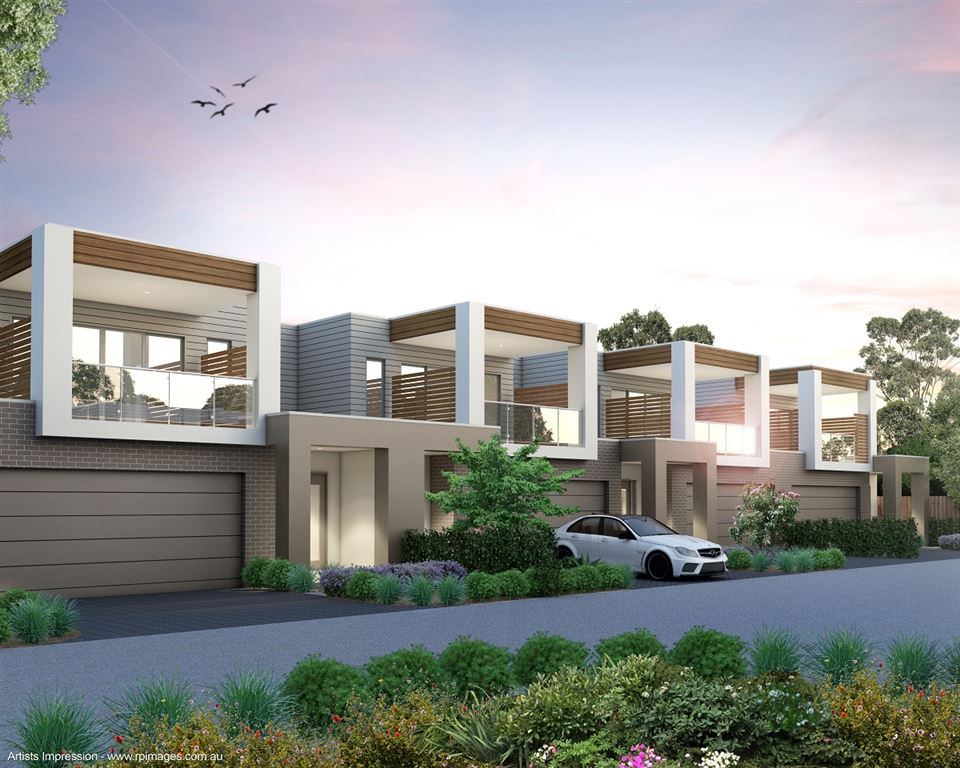 Brand New Luxury Townhouse with Harbour Views