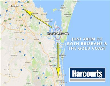 40 Km to Brisbane and the Gold Coast