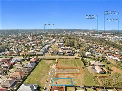 Rare 400m2 block in Brisbane Council