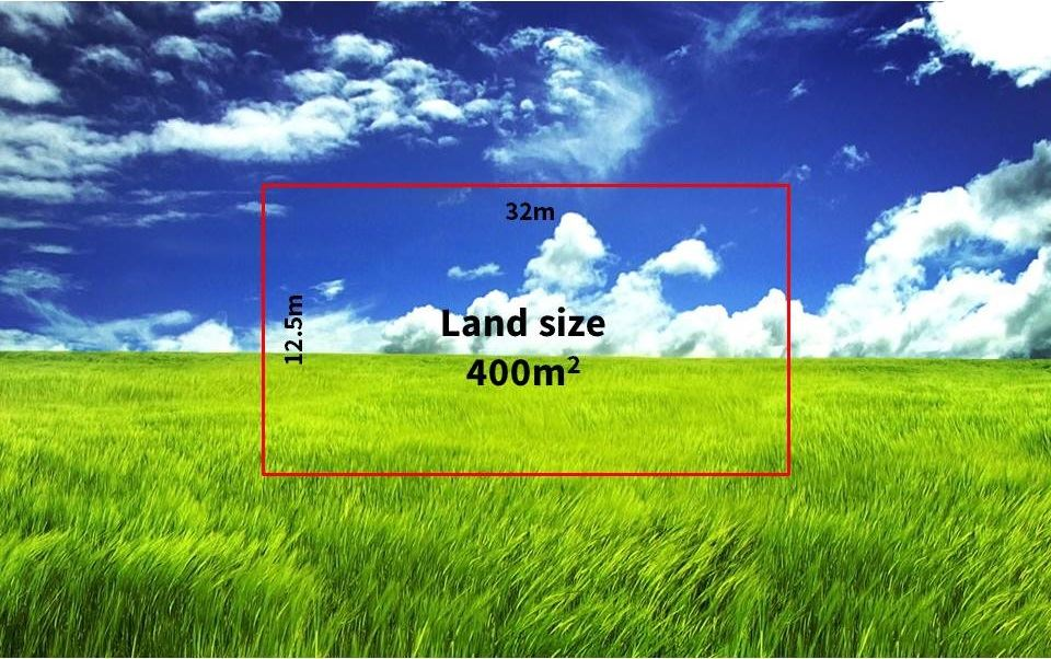 Titled land and ready to build your dream home on.