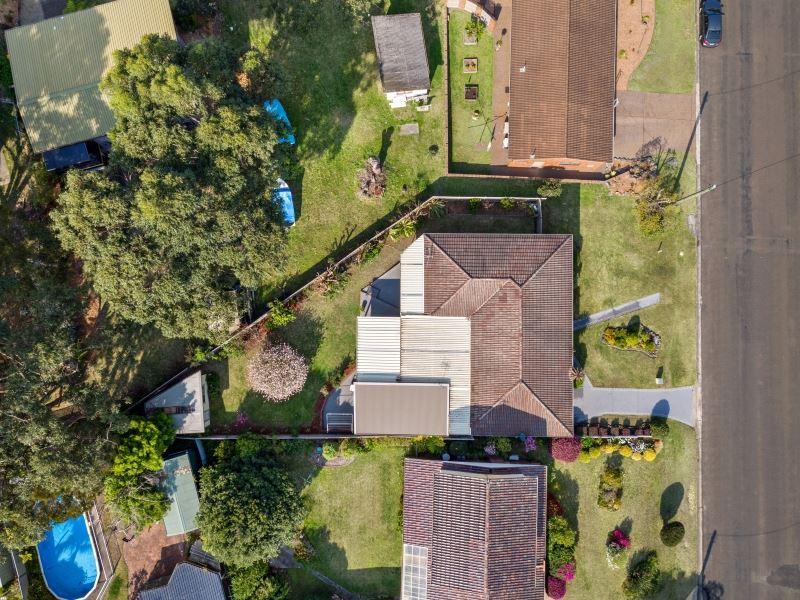 Aerial Shot of Block