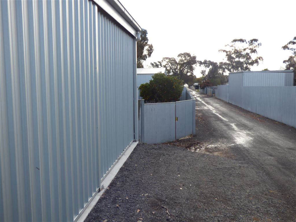 Rear Shed Access from Laneway