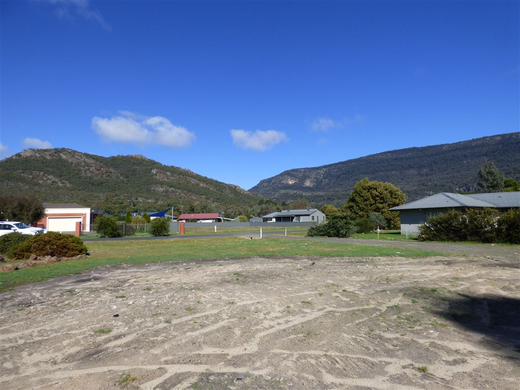 View from Former House Location to Grampians