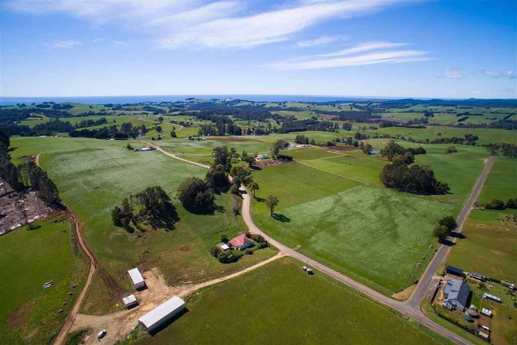 Dairy farm with Bass Strait coastal views!