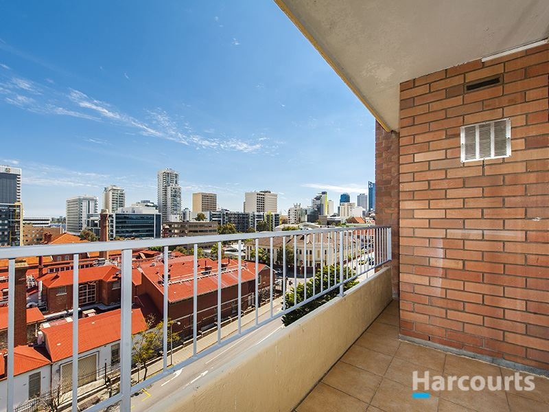 Renovated with 2 balconies & City Views!