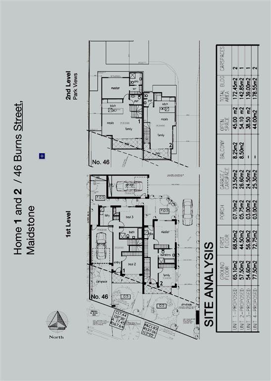 Floor plan front