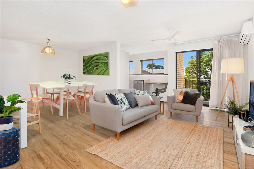 Renovated and spacious 2 bedroom unit