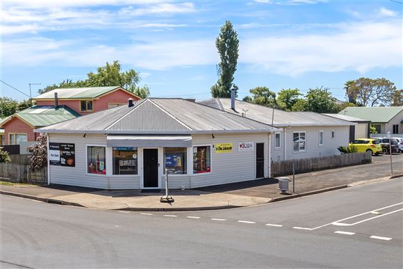 Commercial/Residential Freehold with Convenience Store Bus.