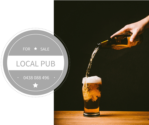 Local Pub For Sale!