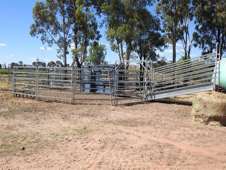 Set of panel yards
